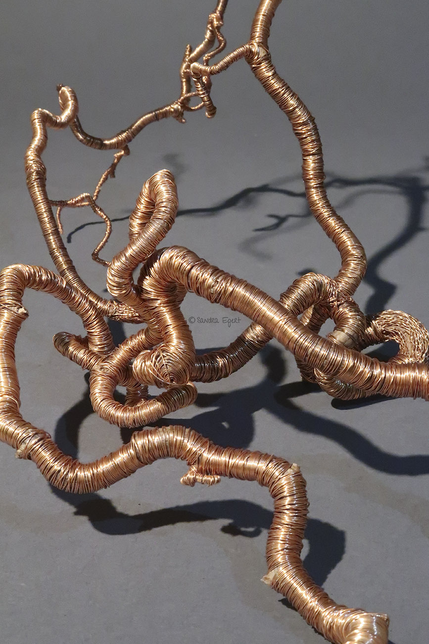 3D-Kupferlinie No. 3, Ansicht 7