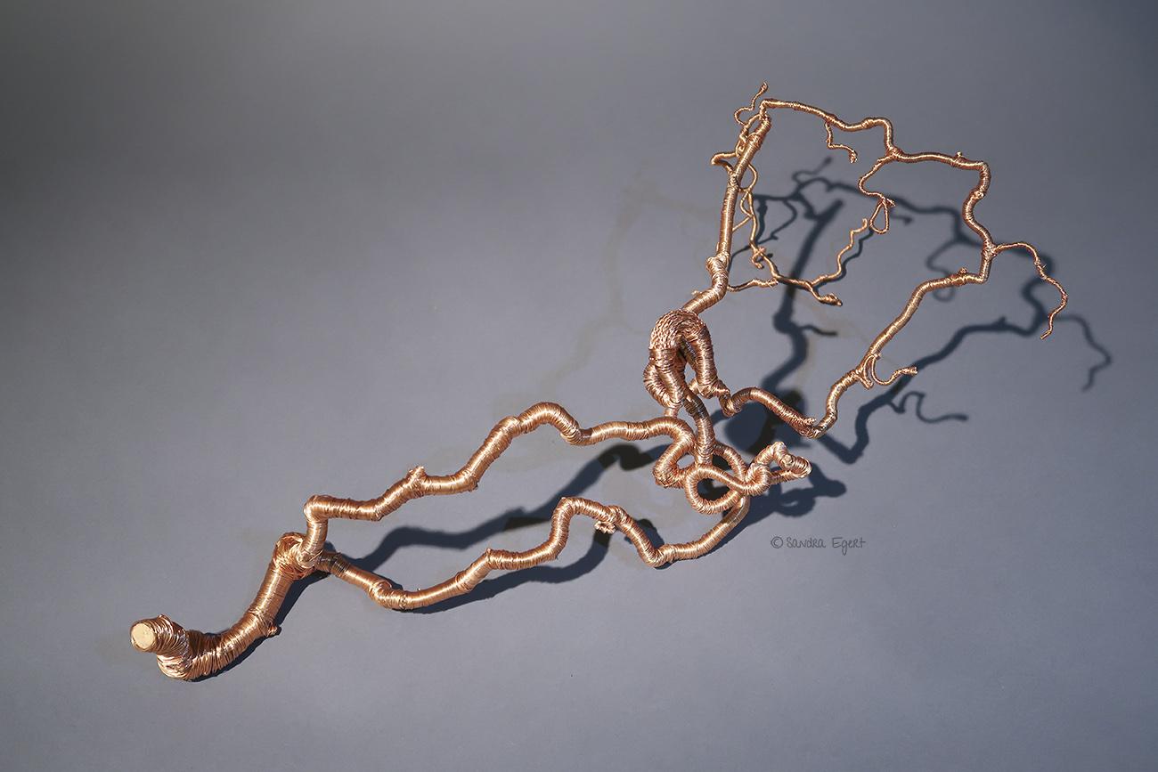 3D-Kupferlinie No. 3, Ansicht 2